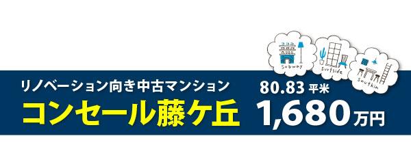 コンセール藤ケ丘帯